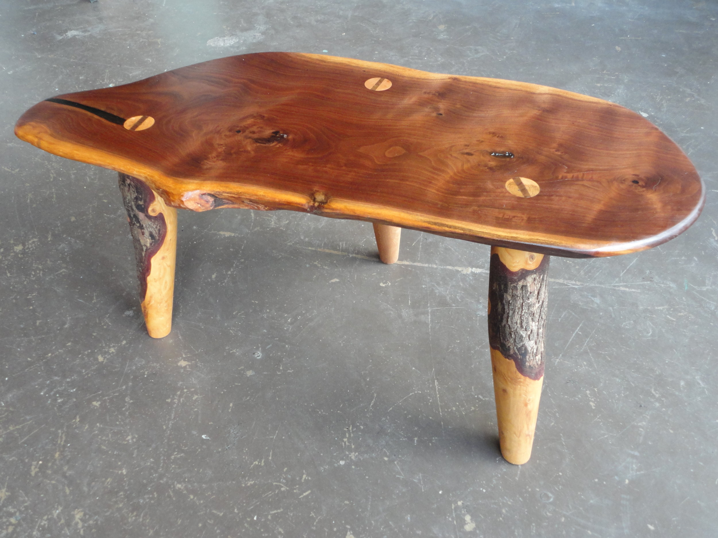 Aldo Valdés Böhm Walnut Table.JPG