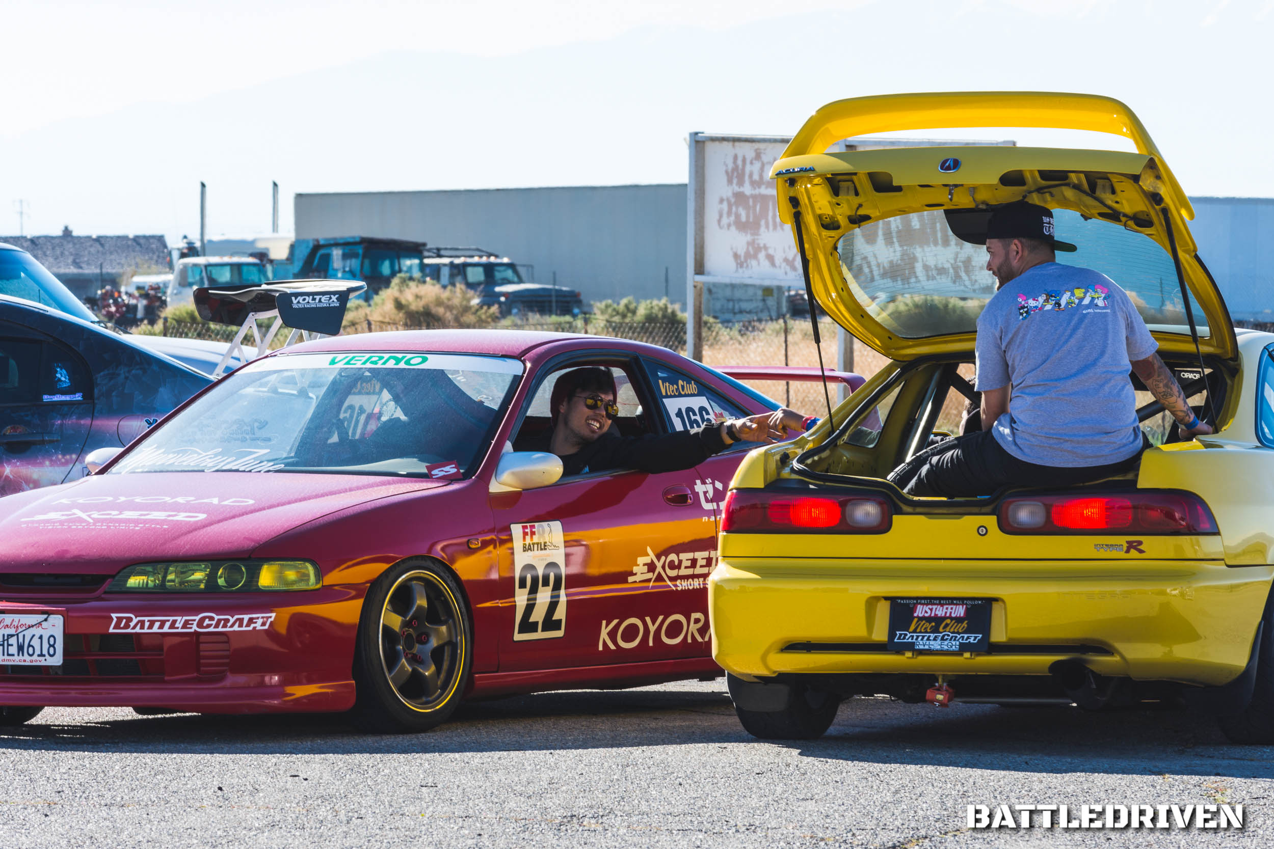 Vtec Club USA brings out some of the best Honda powered platforms to the time attack grid, but it's not always the cars that leave a lasting memory. Friendship and driver camaraderie though, is a different story.