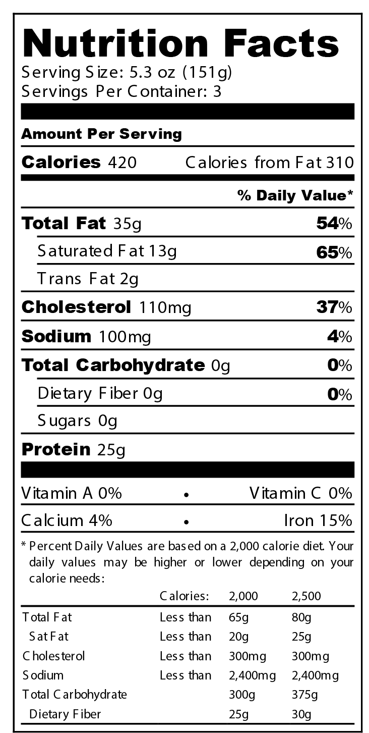 Kobe burger 5.3 - Nutrition Label.png