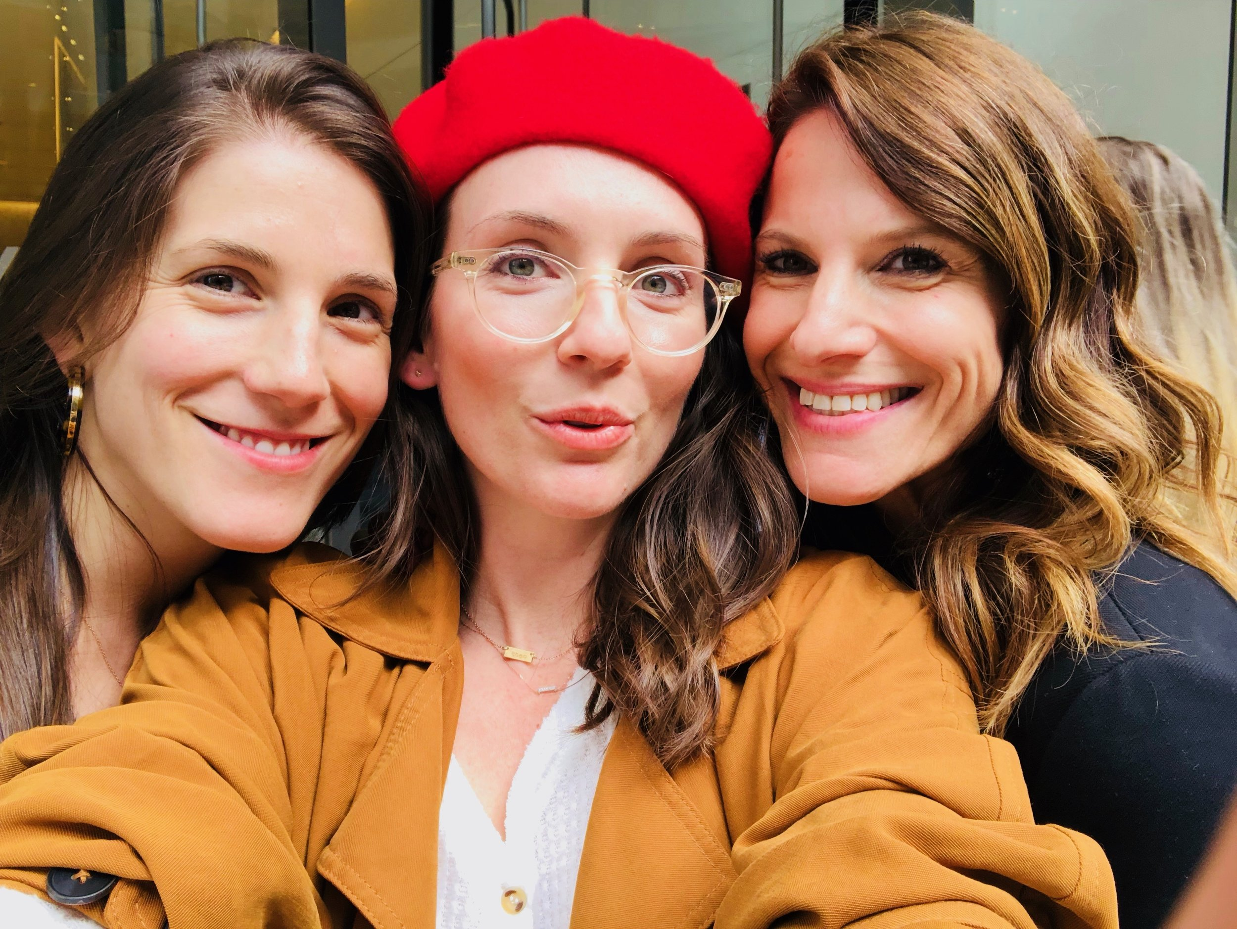 Kate Anderson, Sarah Sommers and Karen Cahn, Co-Founders of iFundWomen