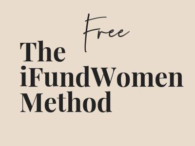 ifundwomen method crowdfunding