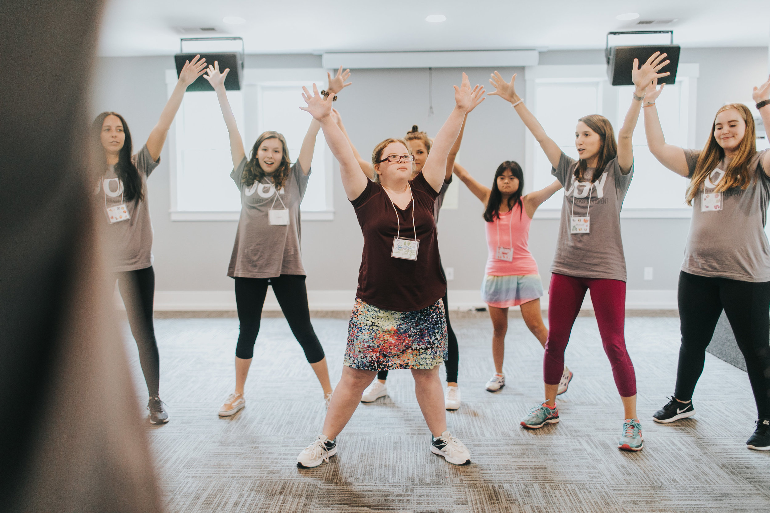 """Dance transformed my life for the better and I wanted to share that same experience with a group of people who may not otherwise have the opportunity."" - -Lauren Beasley, Founder, MOVE Inclusive Dance"
