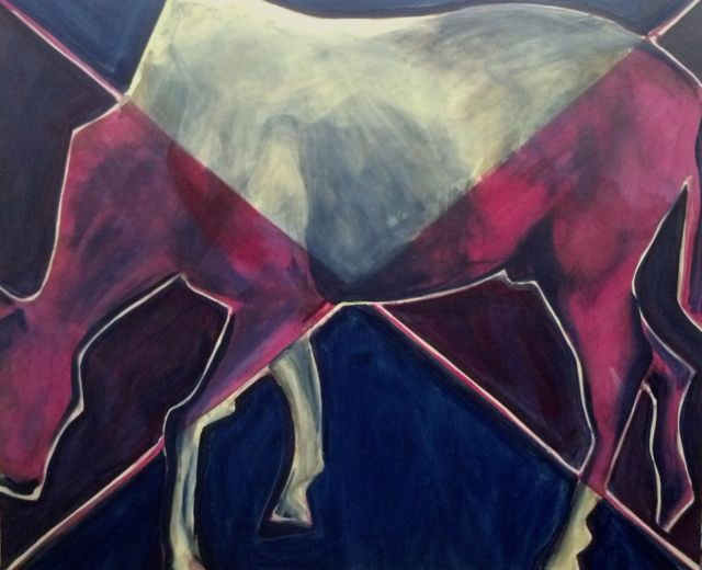 Horse 12 (Susan Rothenberg's Horse) 2012