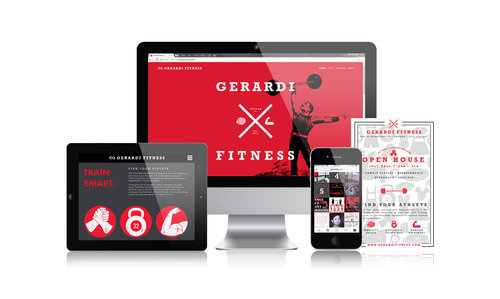Gerardi Fitness  | Personal Coach & Trainer | Brand & Website Design