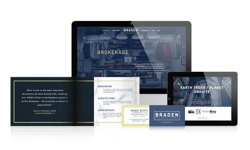 Braden Real Estate  | Commercial Real Estate Firm | Brand & Website Design
