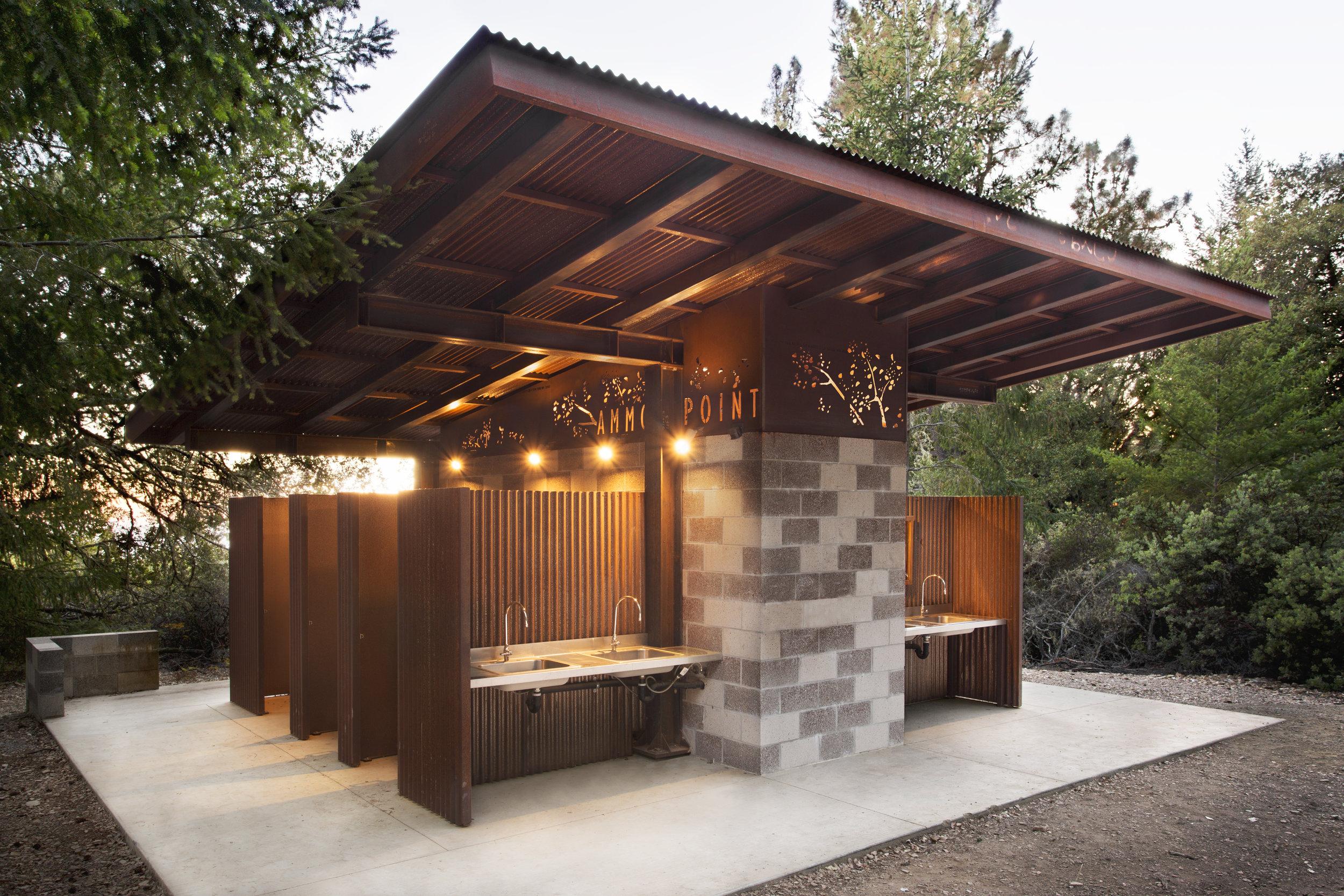 Lehi Camp Bathroom Santa Cruz Mountains