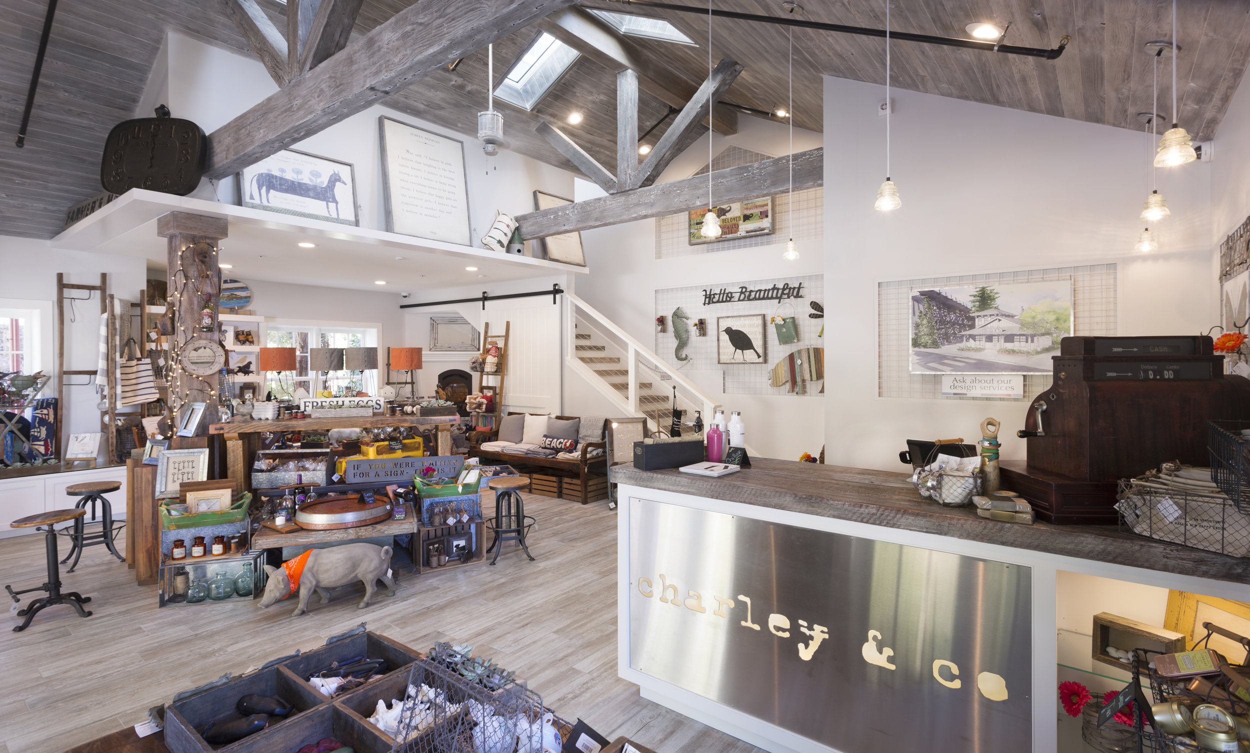 charley and co. interior remodel