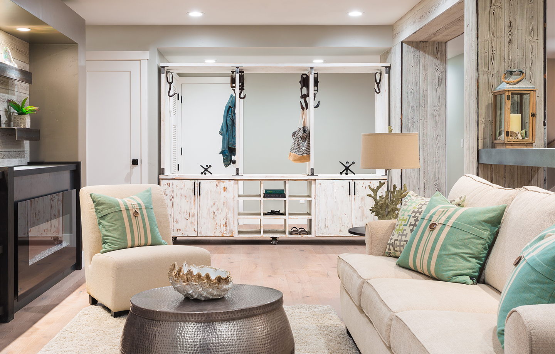 Coastal living room Monterey Bay