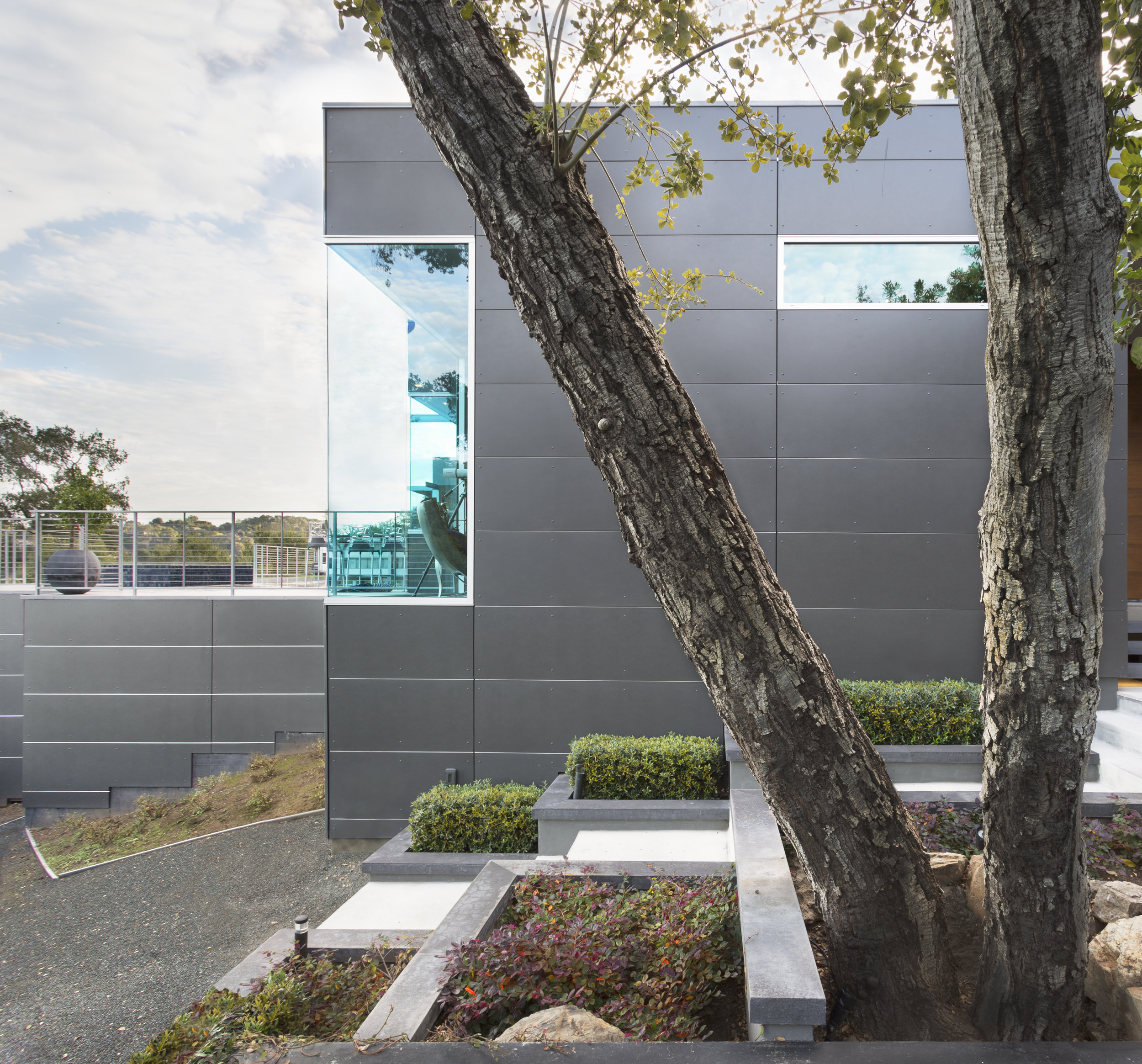 metal panel custom home architecture russell simpkins photography