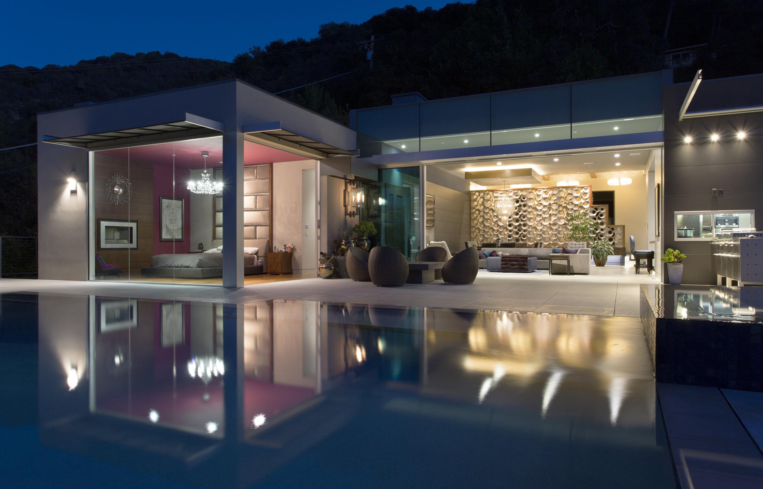 Los Gatos Bay Area custom house design Gentry Magazine Russell Simpkins photography