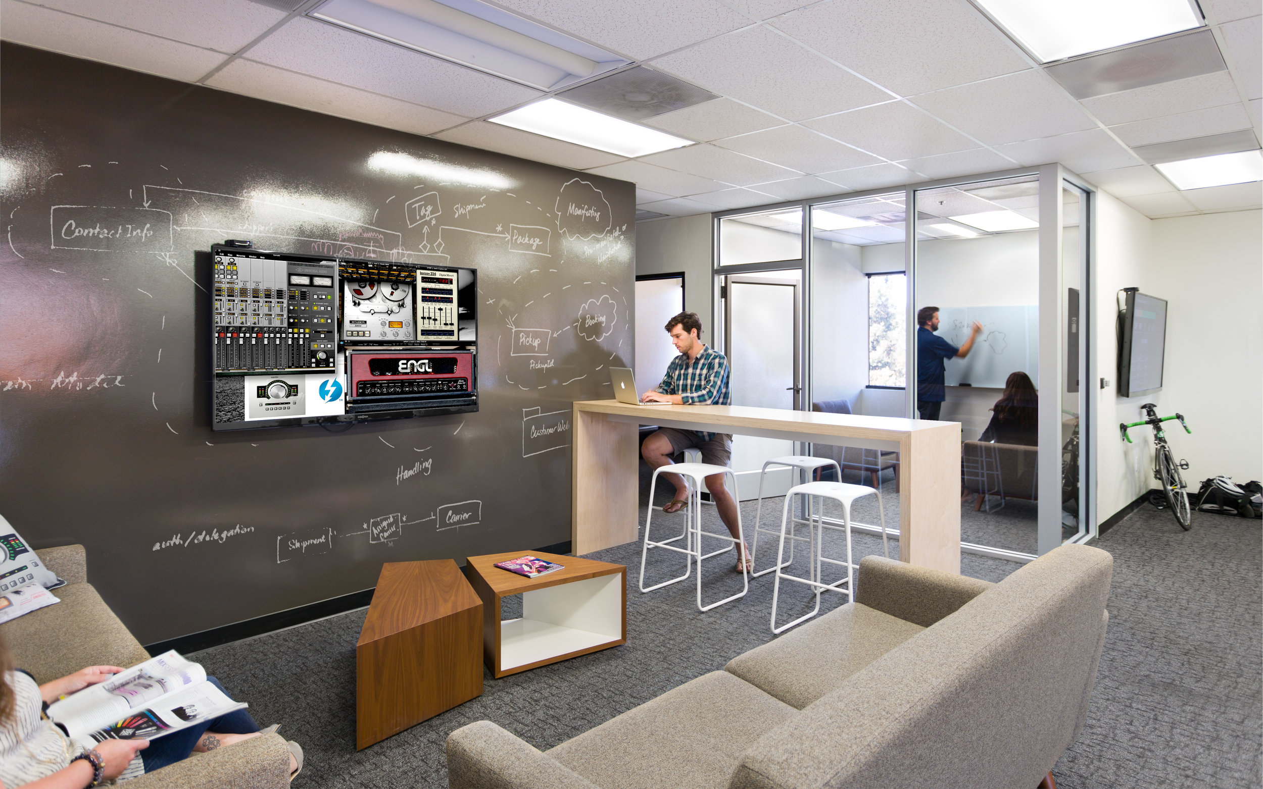 Universal Audio Office Lounge