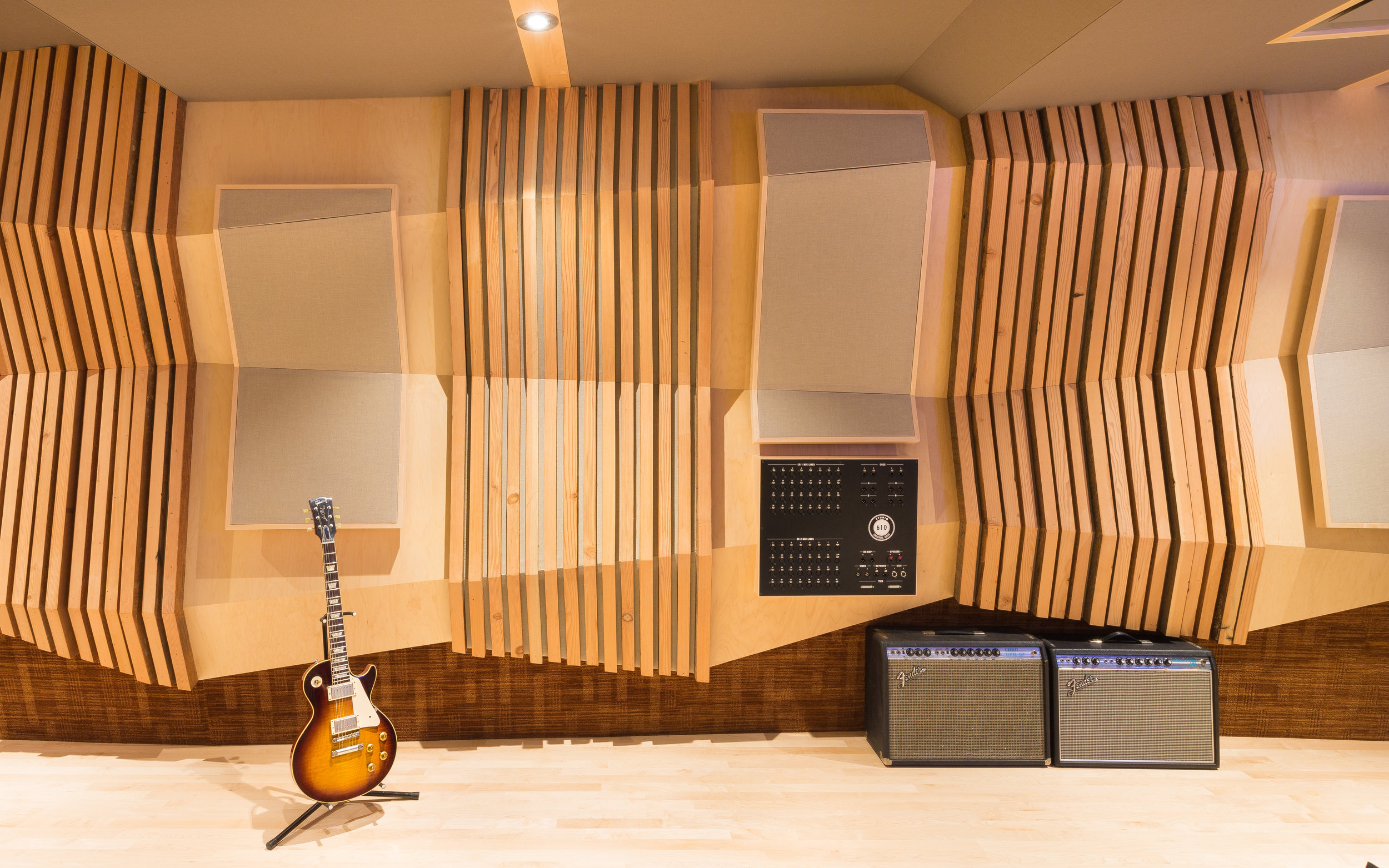 Universal Audio Studio Architectural Photography