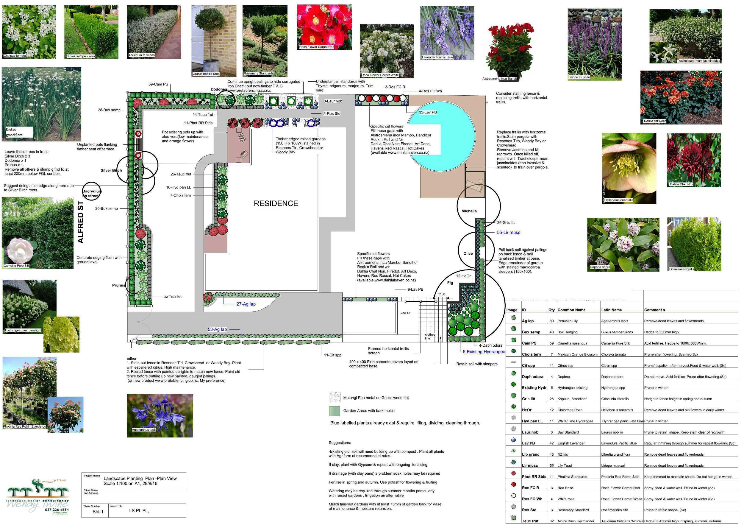 Example of Planting Plan
