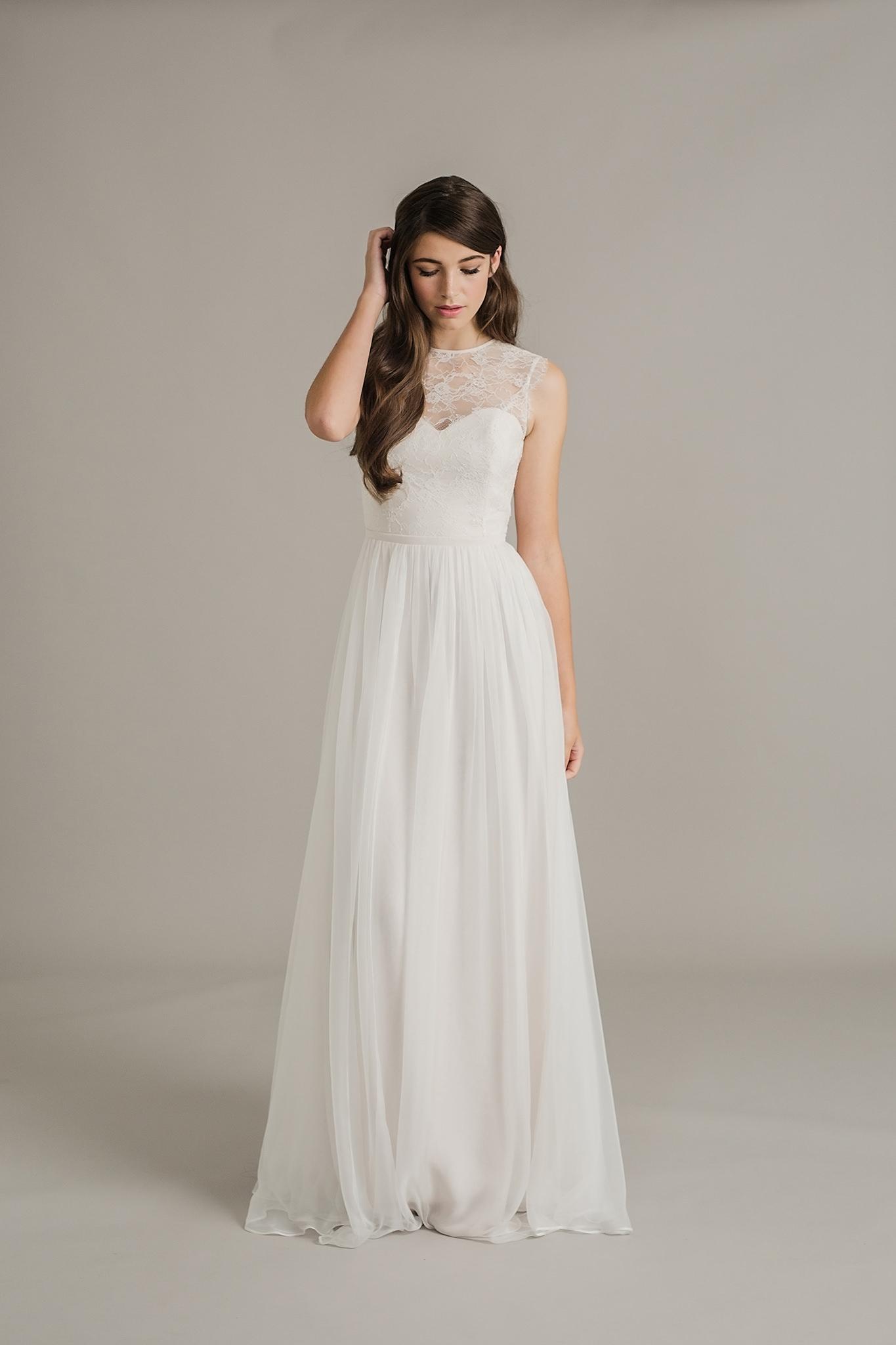 Paige wedding dress by Sally Eagle