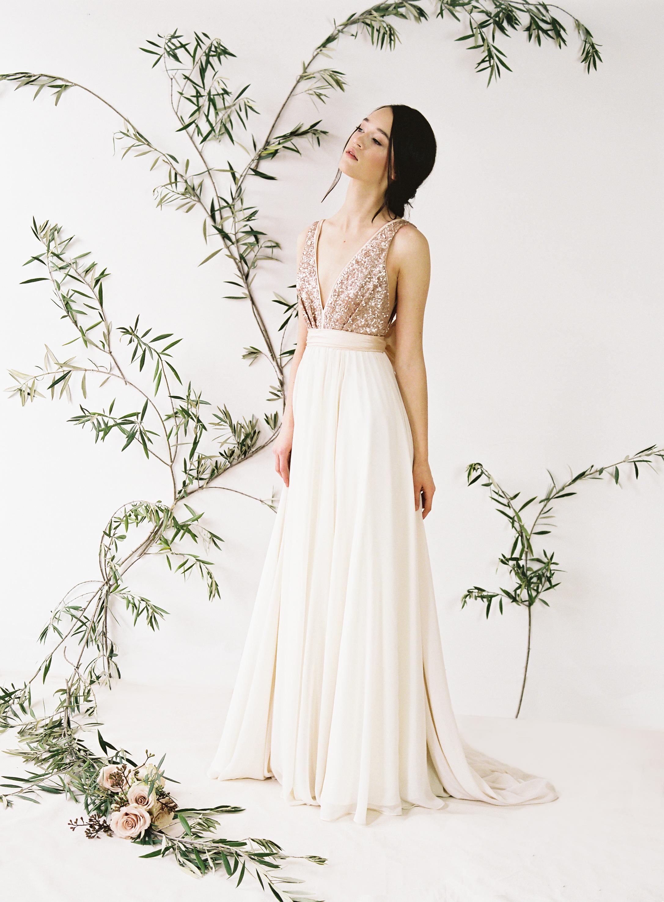 Eden wedding dress by Truvelle