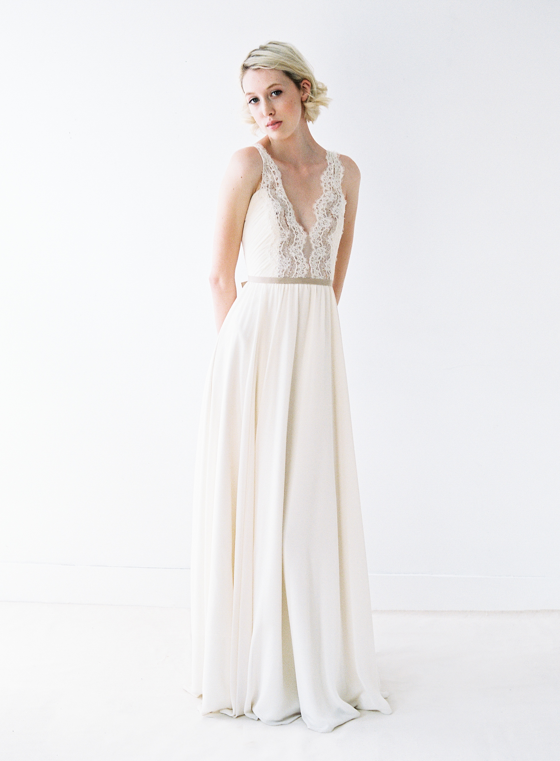 Nicolet wedding dress by Truvelle
