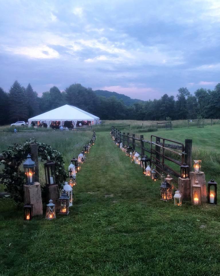 Penn Rustics Rentals_Clay Wedding_Pathway.jpg