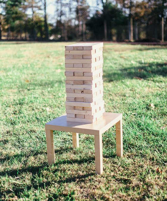 Giant Jenga Game Set