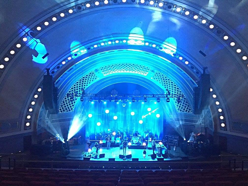 Beautiful Hill Auditorium in Ann Arbor Michigan