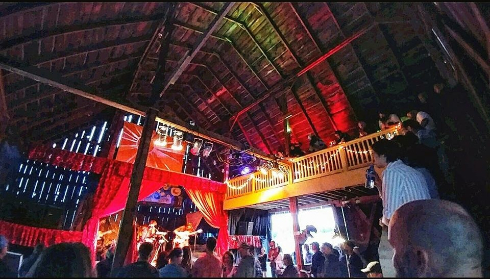 The Sol one of a kind barn festival in northern Michigan