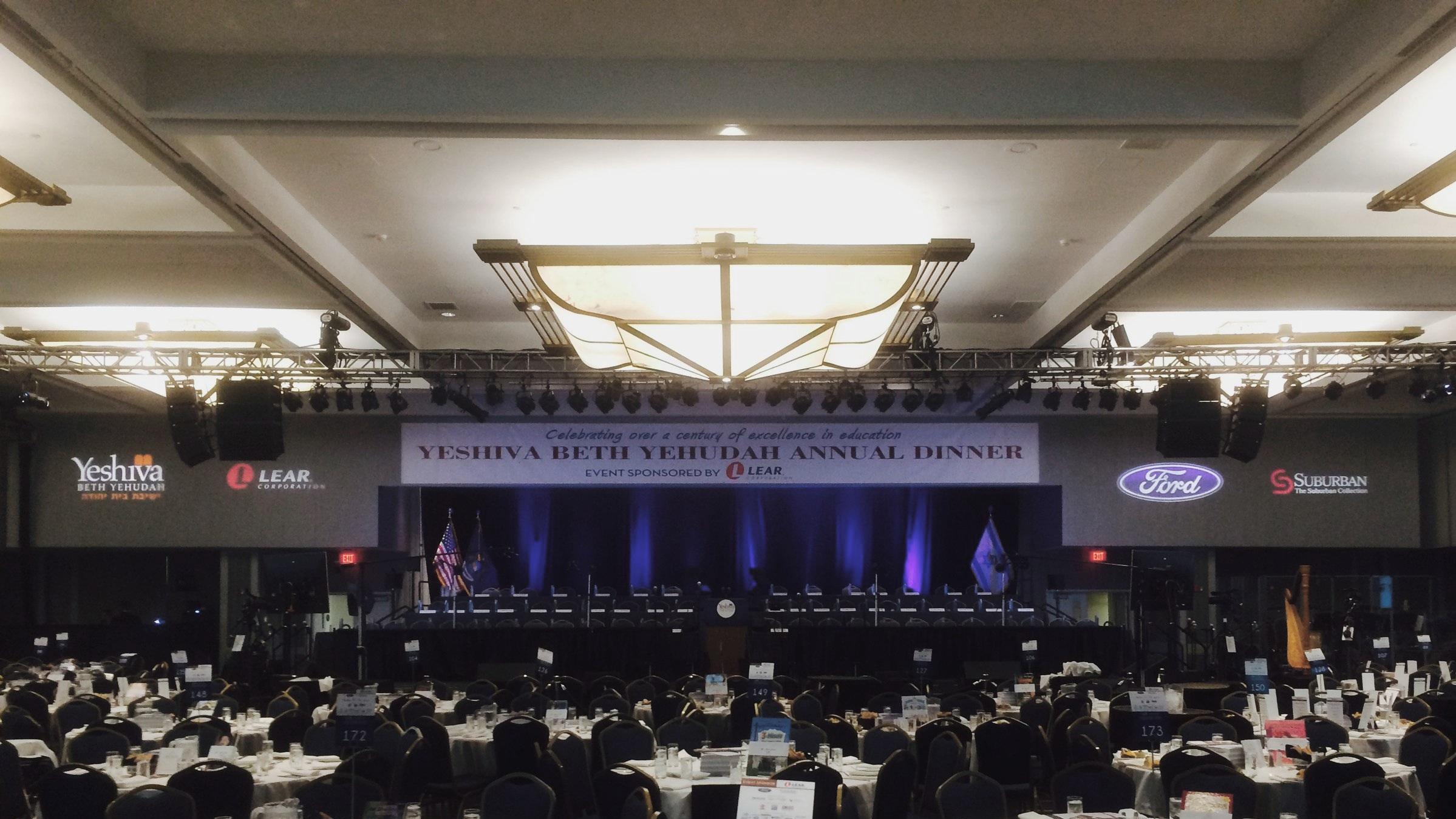 Corporate event in Renaissance Ballroom
