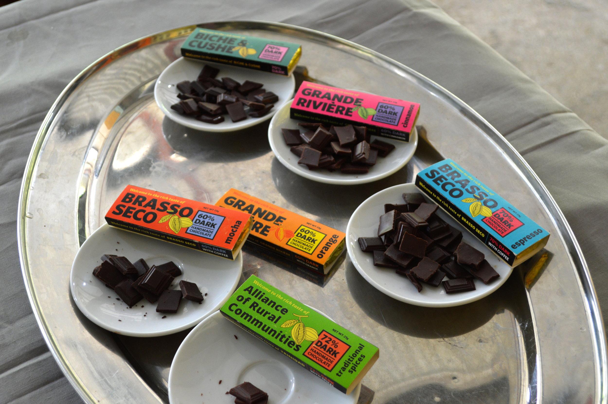 Chocolate Bars produced under ARC