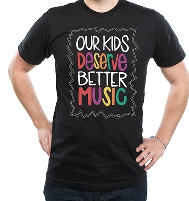Our-kids-deserve-better-music-apparel-black-shirt