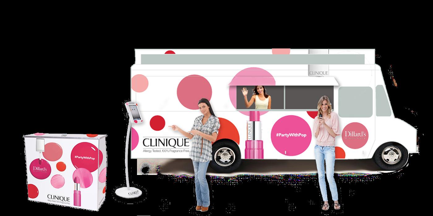 Clinique-Makeup-Food-Truck-Promotion