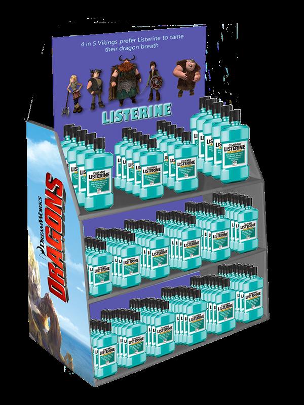 Listerine Point-of-Sale Merchandiser