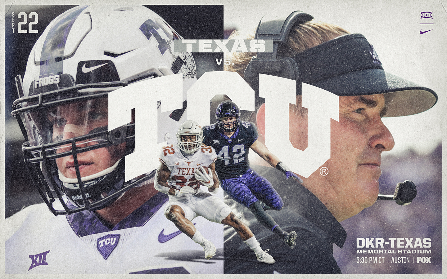 TCU vs Texas