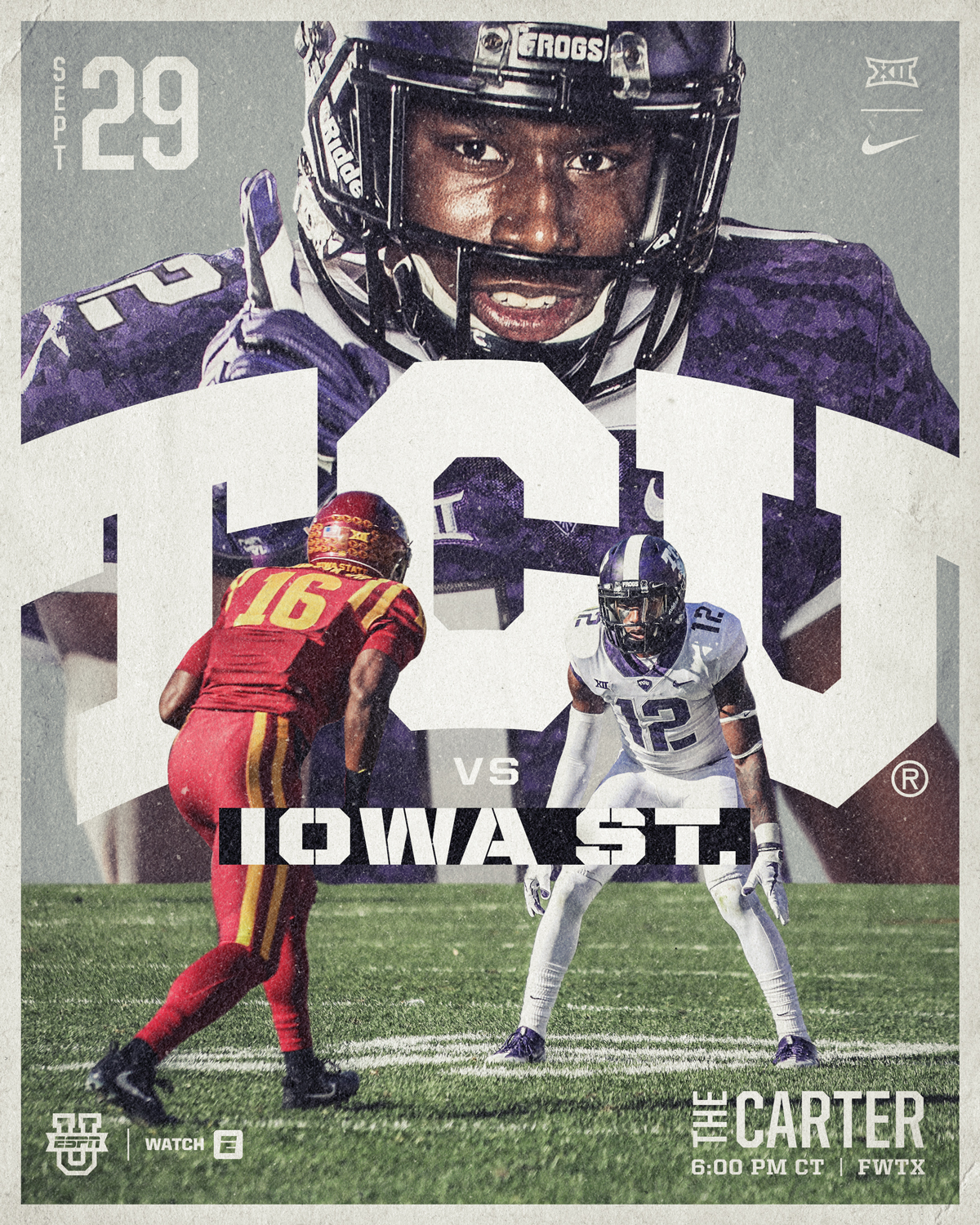 TCU vs Iowa St.