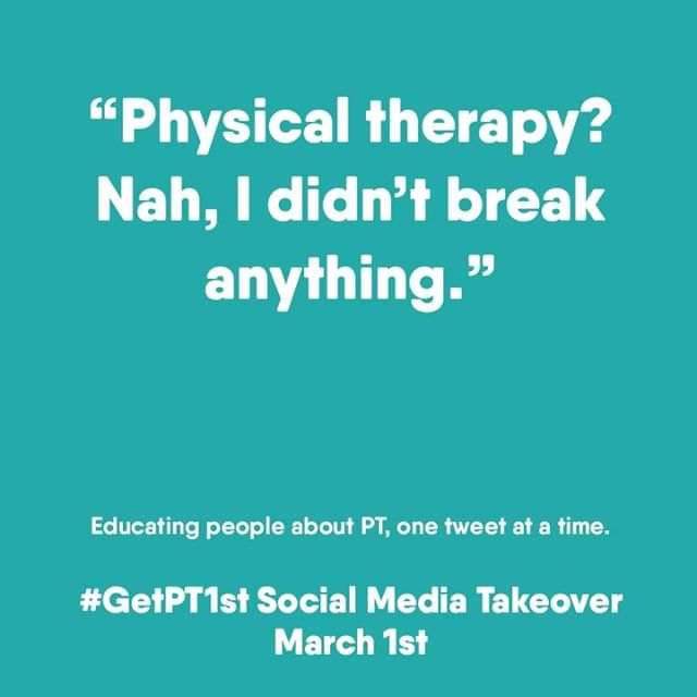 Did you visit your PT for an annual checkup? Physical therapy isn't just for individuals who've broken a bone or have an injury. A yearly appointment with your PT can identify and address changes in the way you move before they become a problem. -- #getpt1st #nikaoperformanceandrehab #physicaltherapy #azphysicaltherapist #annualcheckup #brokenbone #physicalhealth #primarycare #healthylifestyle #healthcare #qualitycare #fitness