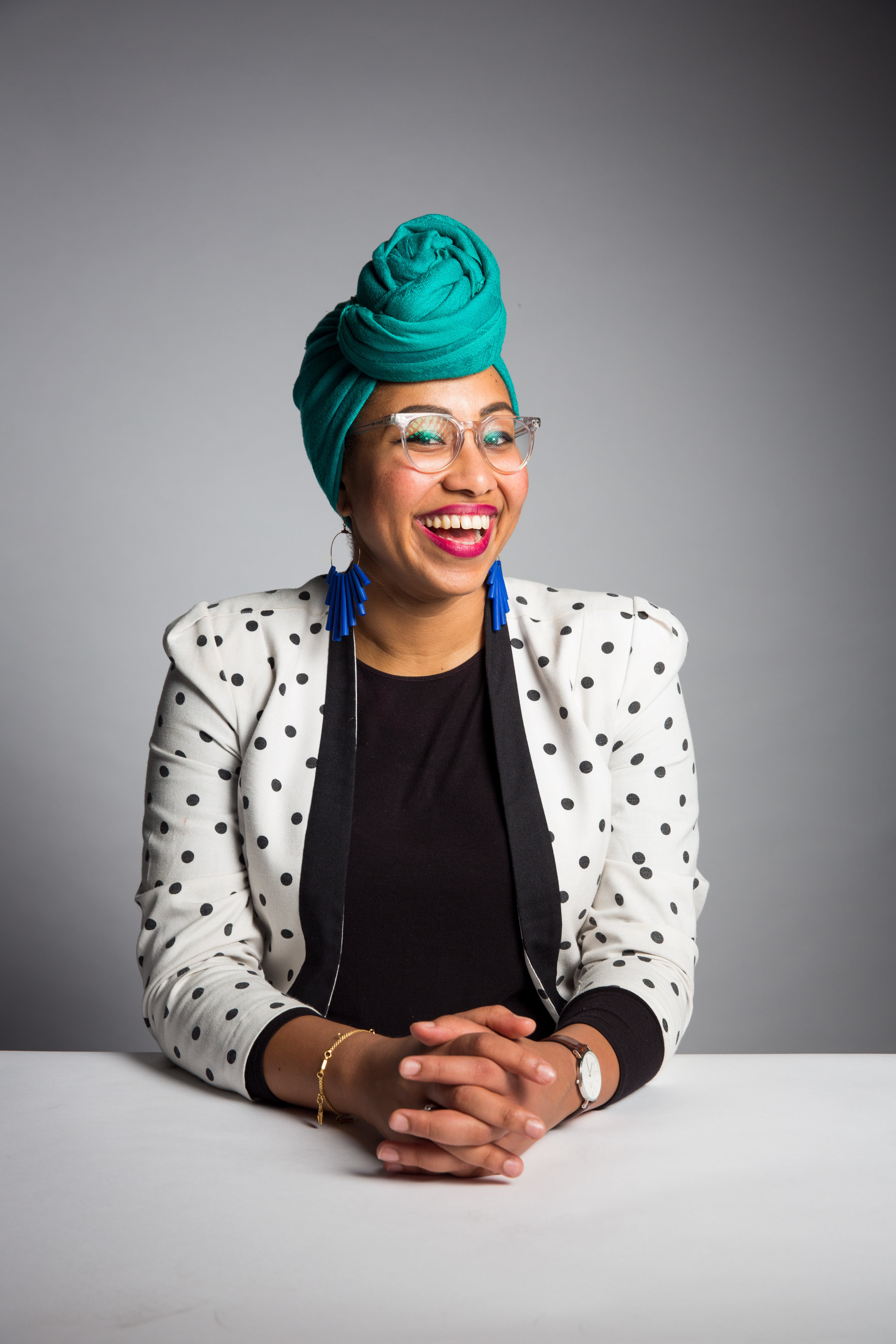 Yassmin Abdel-Magied and Mumtaza Co-Founders will speak to hundreds of secondary school aged girls at the girledworld Summit 2017