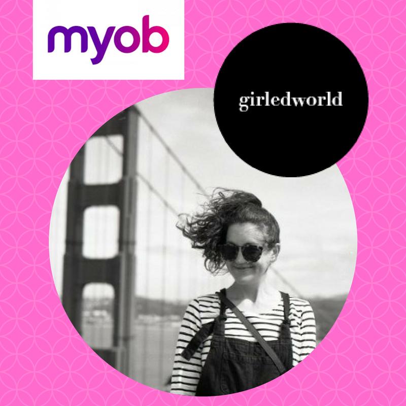Sarah Hyne - Design Anthropologist + MYOB UX Designer to join the girledworld Summit 2017