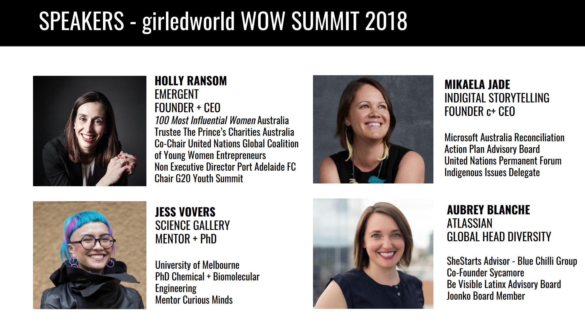 girledworld Summit Speakers STEM