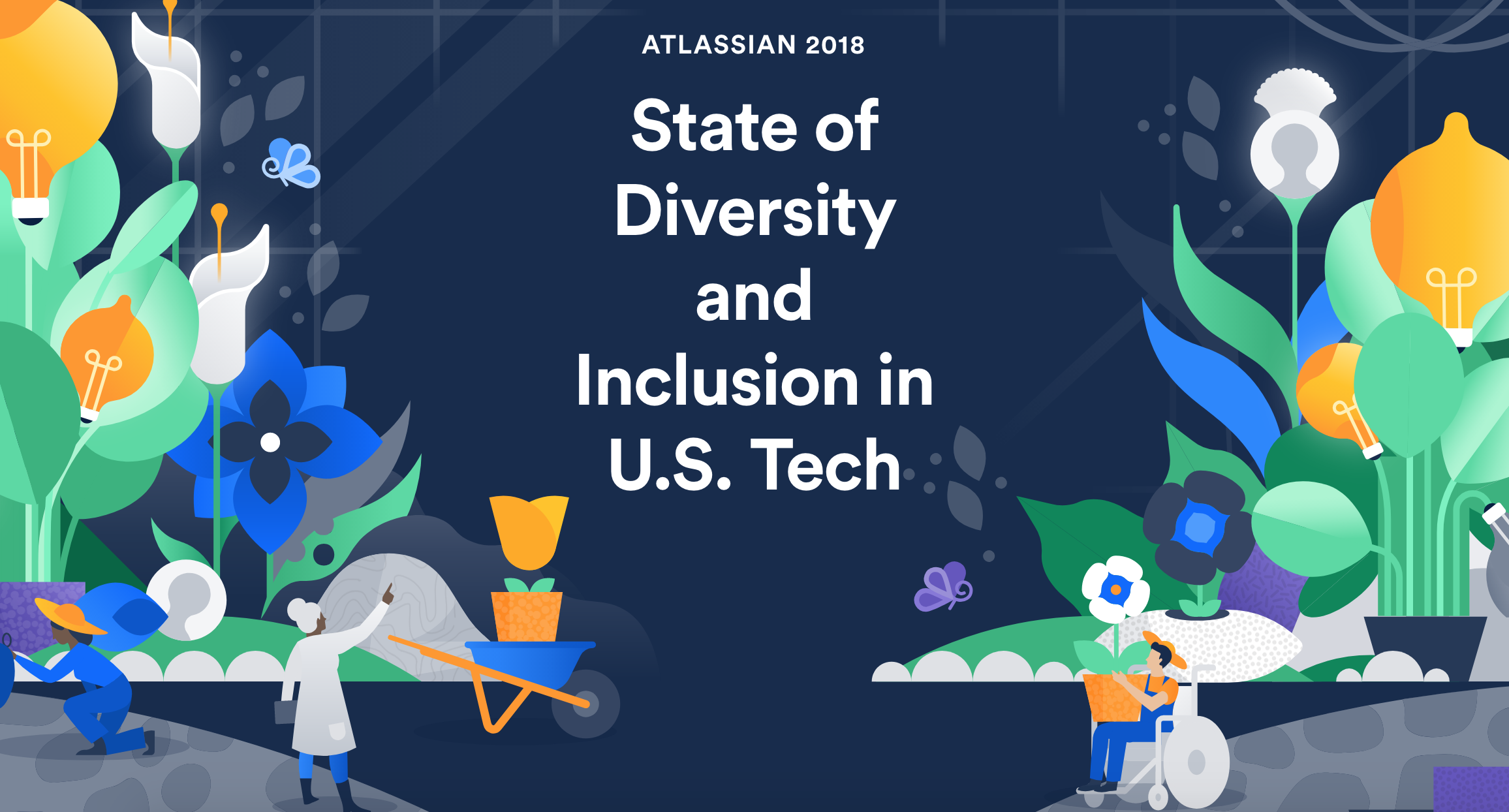 Atlassian DIversity Report girledworld