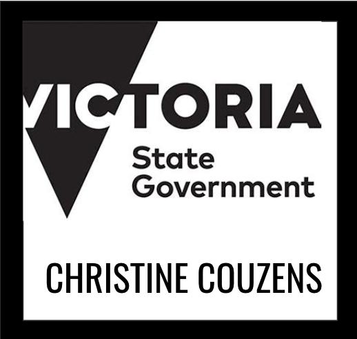 CHRISTINE COUZENS MP  State Government of Victoria