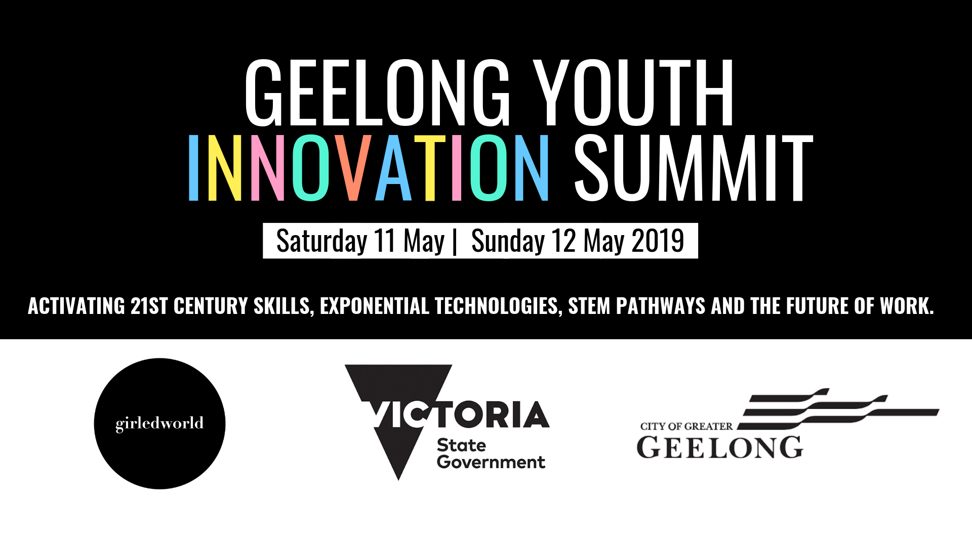 Geelong Innovation Summit 2019 Header