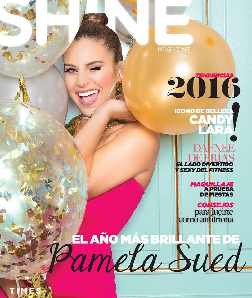 Pam Sued para la revista Shine. Diciembre 2015.