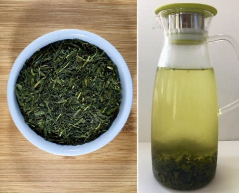 Cold Brewed Sencha Green Tea.  Click to view product.
