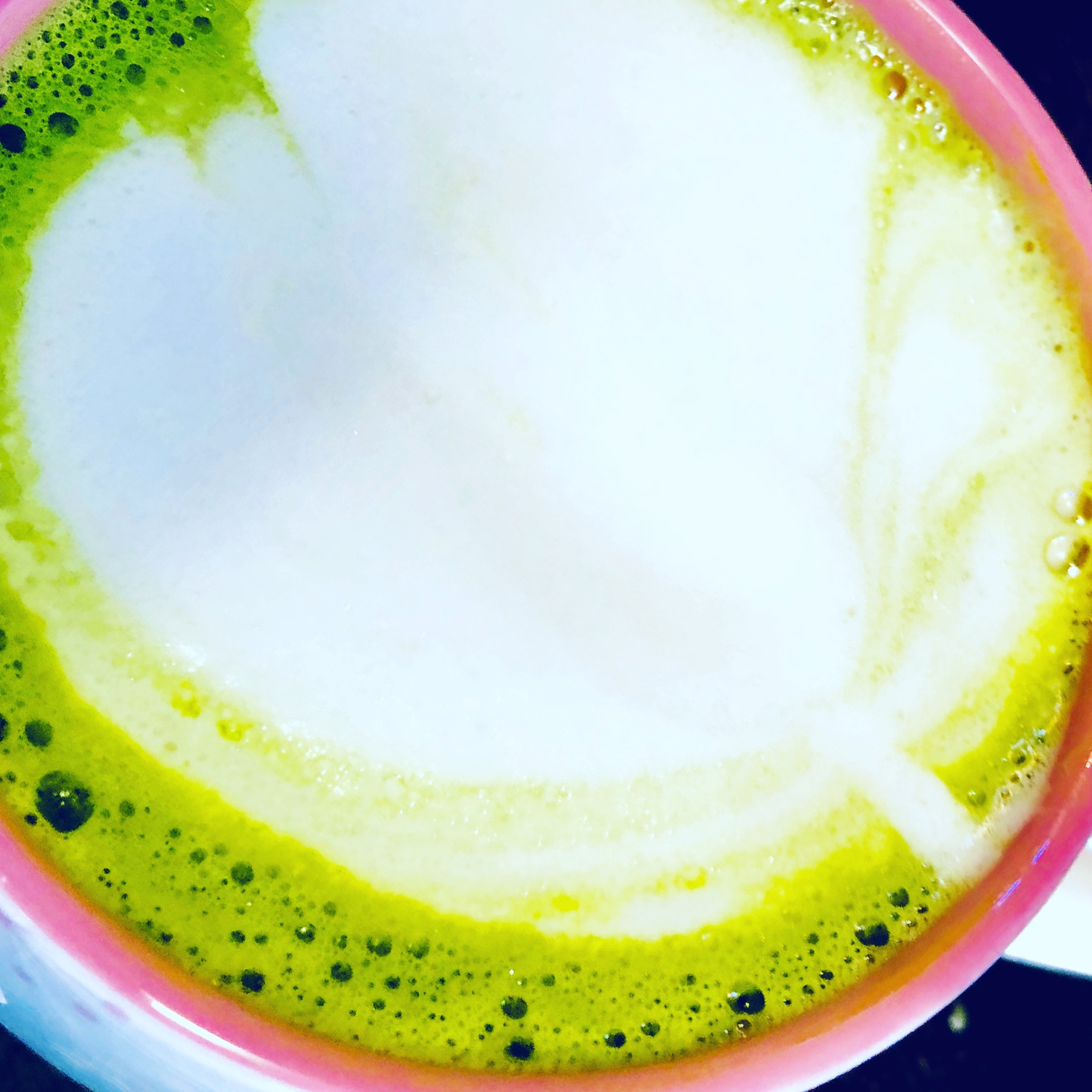 "Matcha latte make using our Matcha Green. Click  ""here""  to view product."