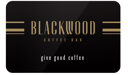 The Blackwood Gift card