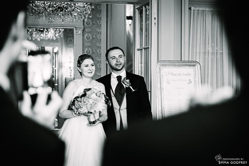 Four seasons des bergues bride & groom