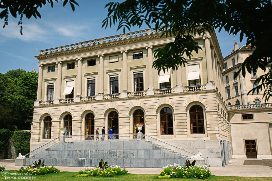 Exterior of Palais Eynard