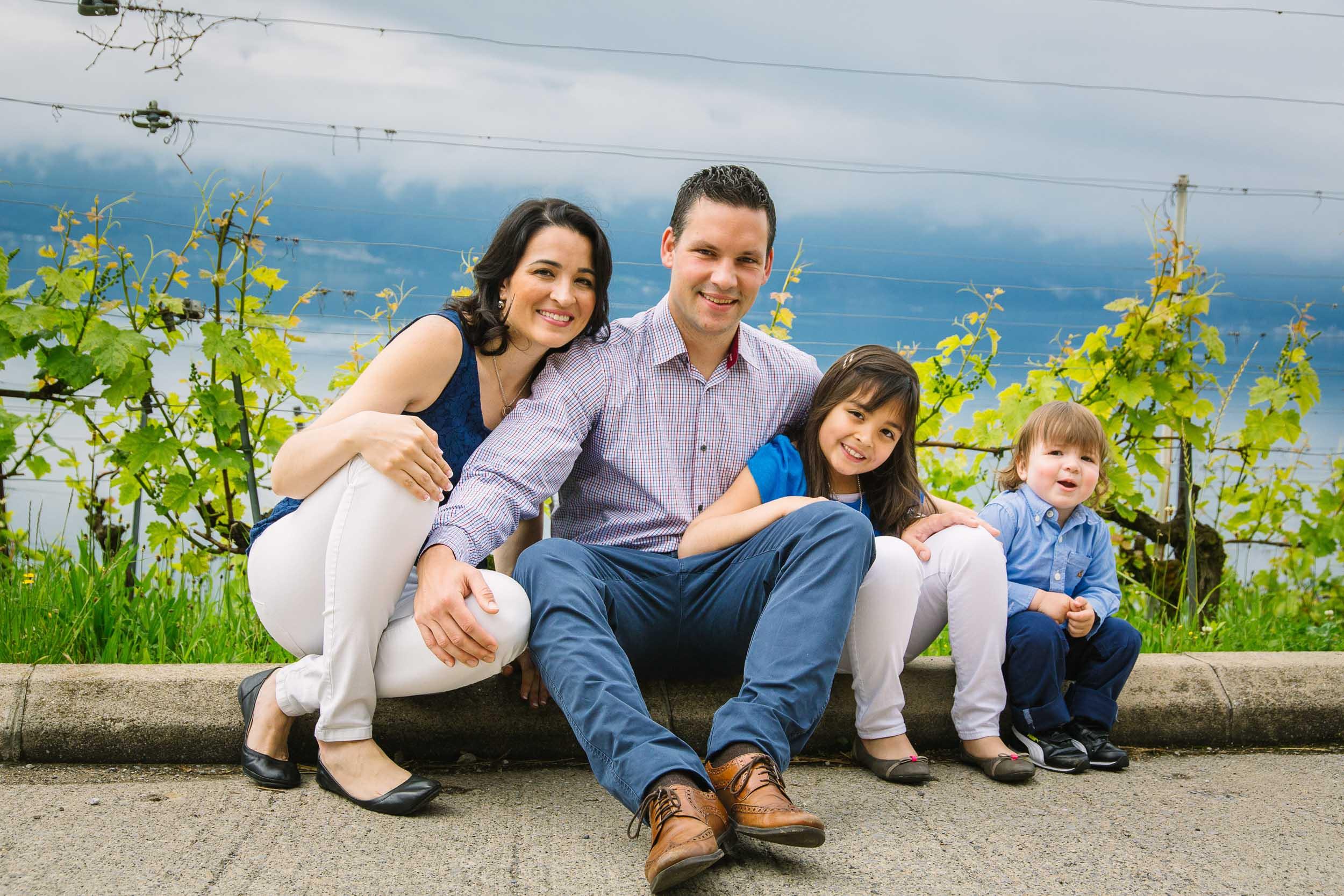 Vineyard Family Photo Shoot