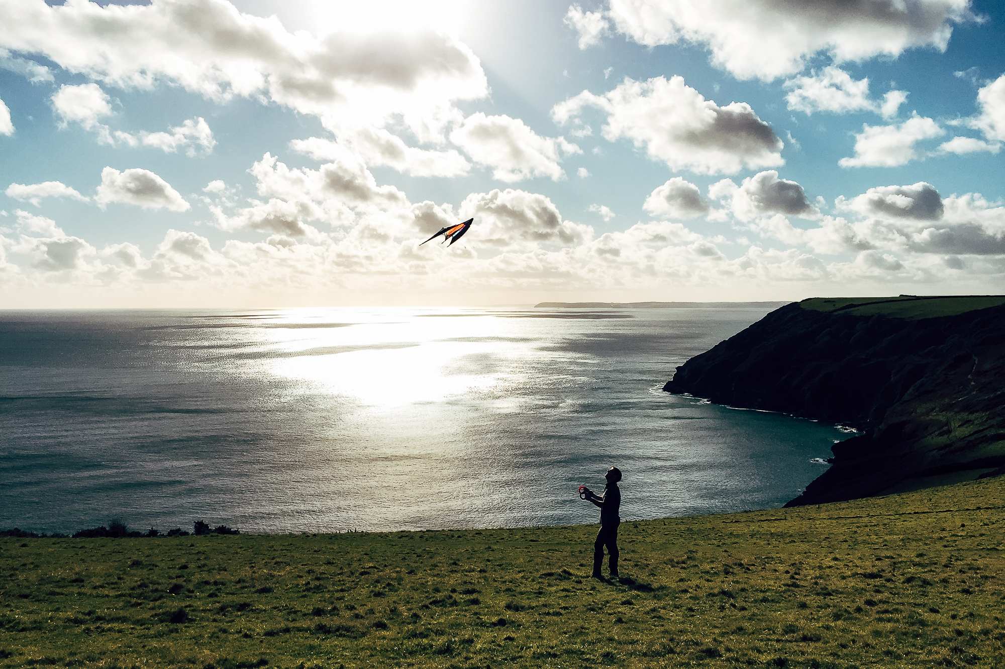 Flying a kite, things to do this spring