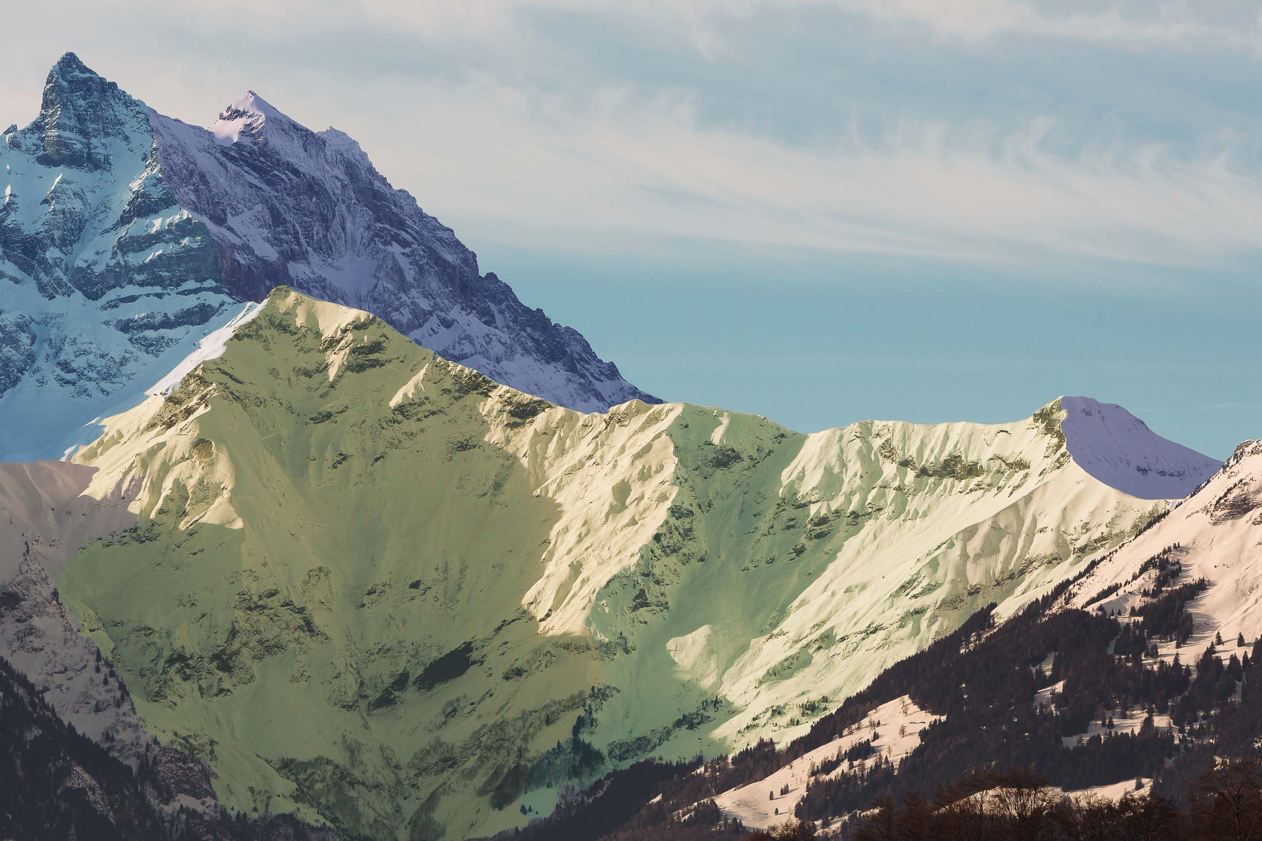 From the photo book 'Mountain' exploring the fragmented nature of perception and memory.