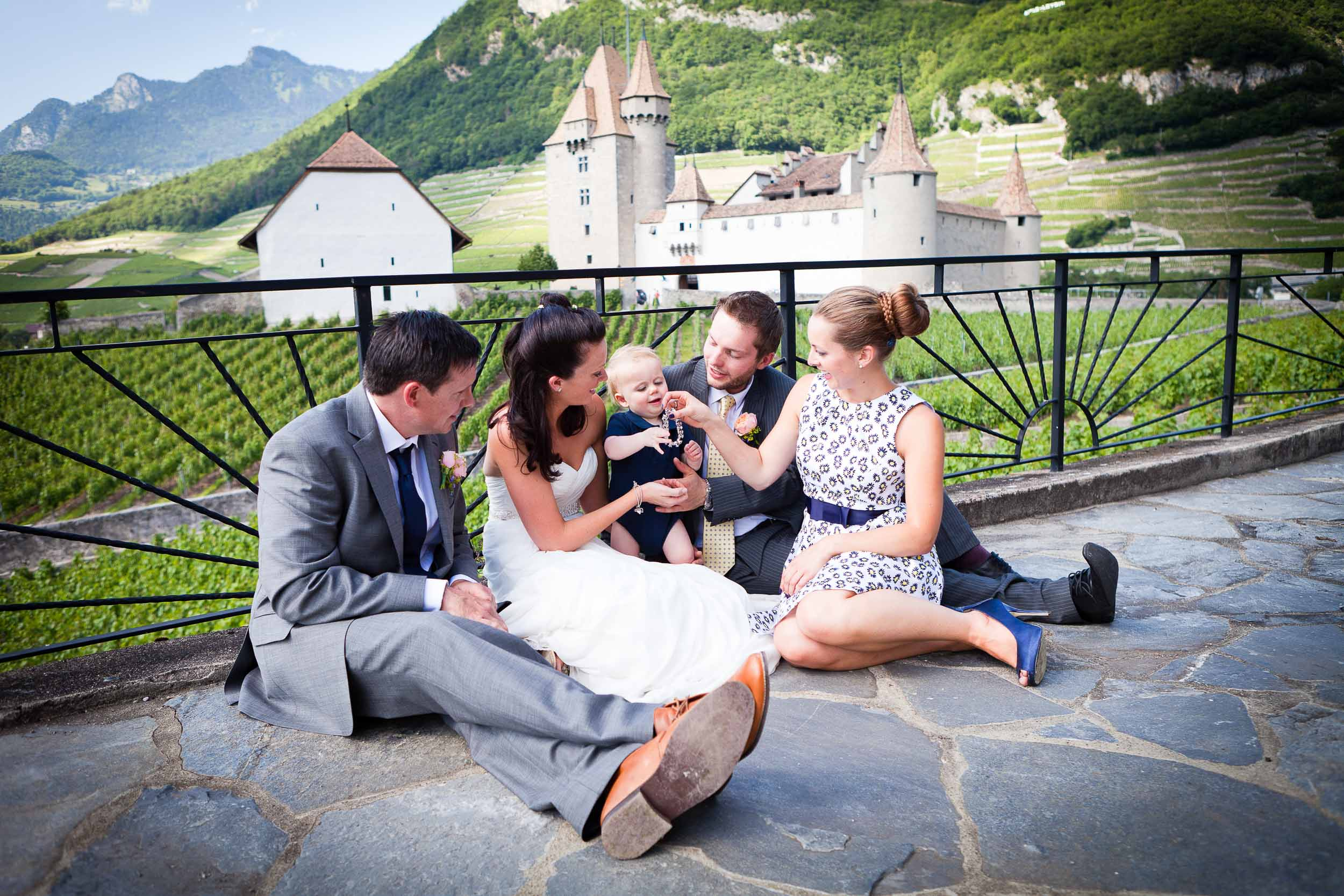 Castle wedding Switzerland 14