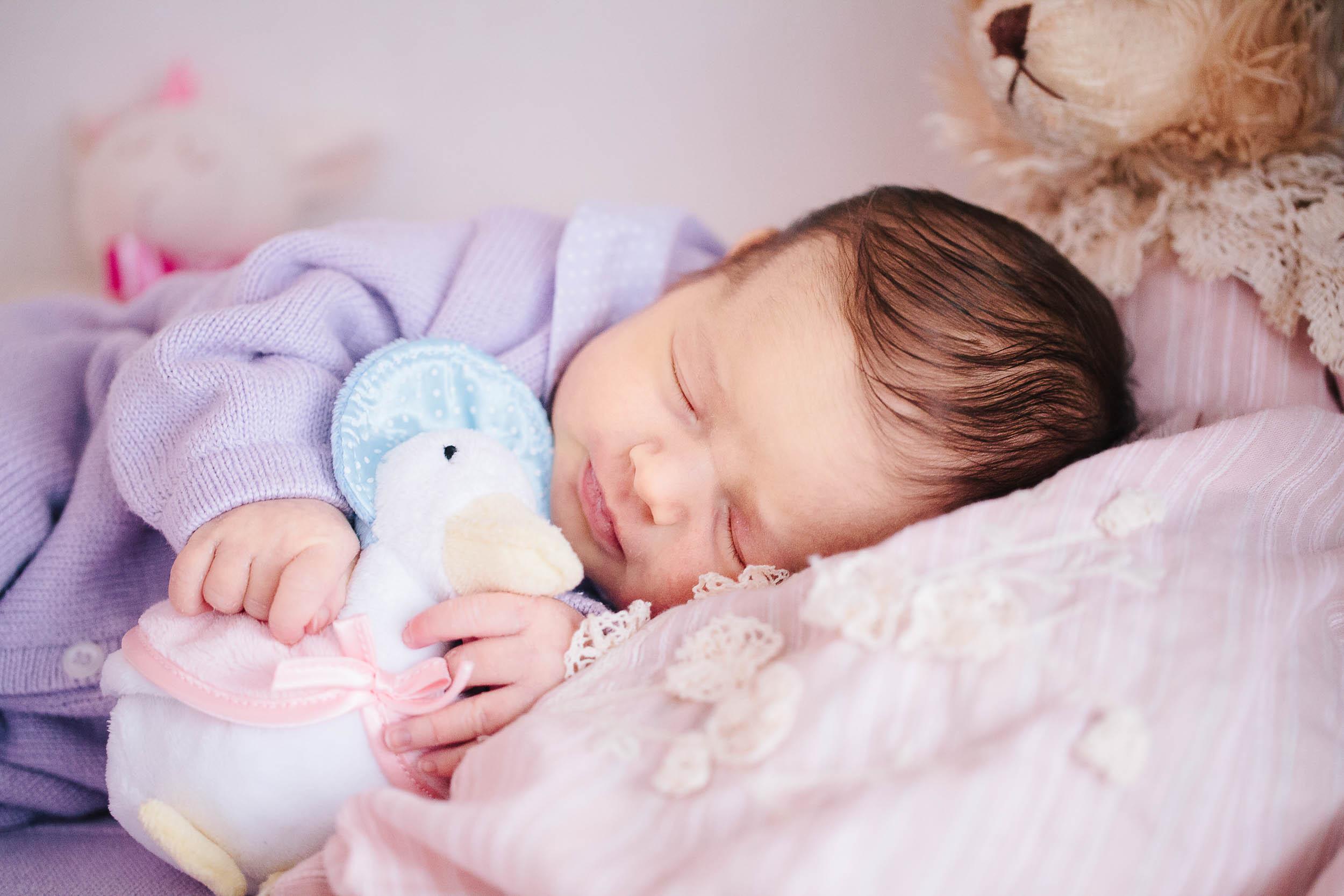 Baby girl newborn portraits 08