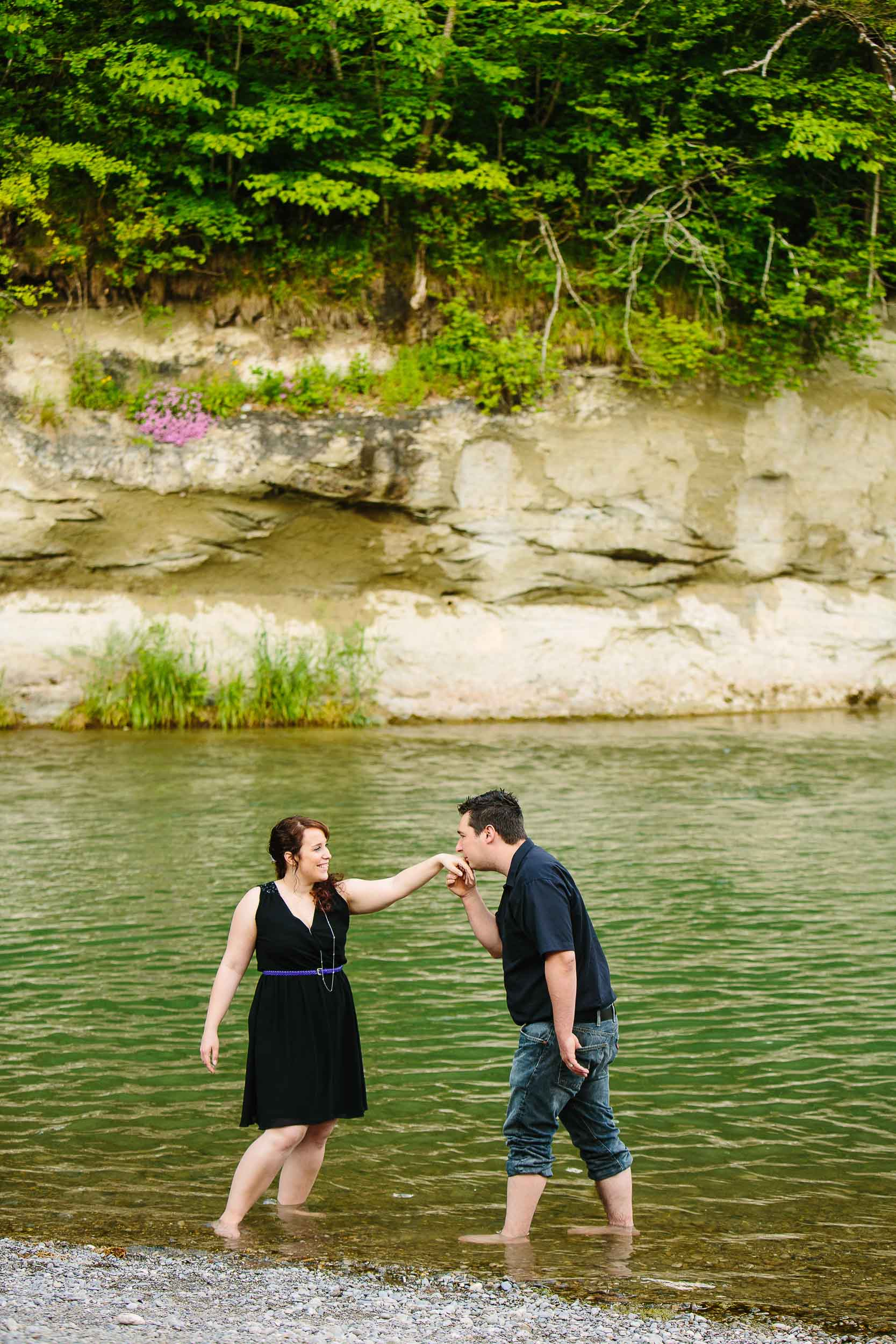 Engagement shoot near Fribourg 07